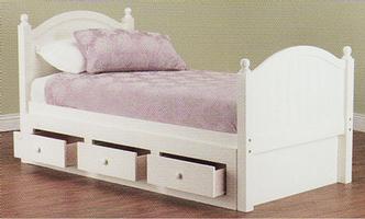 Crest Bed - 3 Drawer Under (Single) FLOOR STOCK