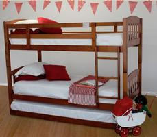 Cola Bunk with Trundle$799 Single (Dirty oak or White)