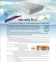 Heavenly Rest Gel Mattress - King single