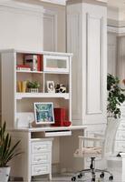 Iris Study Desk & Hutch