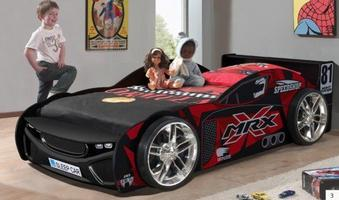 MRX Speed No. 81 Racing Car Bed