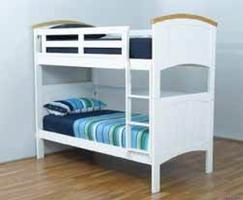 Ranch Bunk - Single (White)