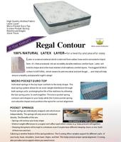 Regal Contour Mattress - Single