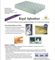 Regal Splendour Mattress - King Single