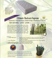 Ultimate Backcare Supreme Mattress - King Single
