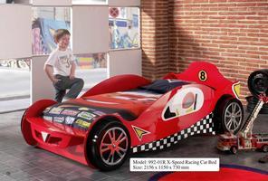 X-Speedy Car Bed (Red)