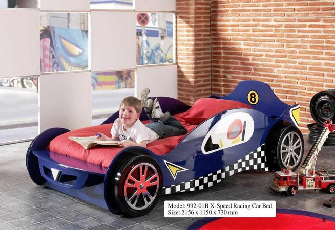X-Speedy Car Bed (Blue)