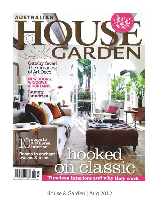 House & Garden   Aug 2012