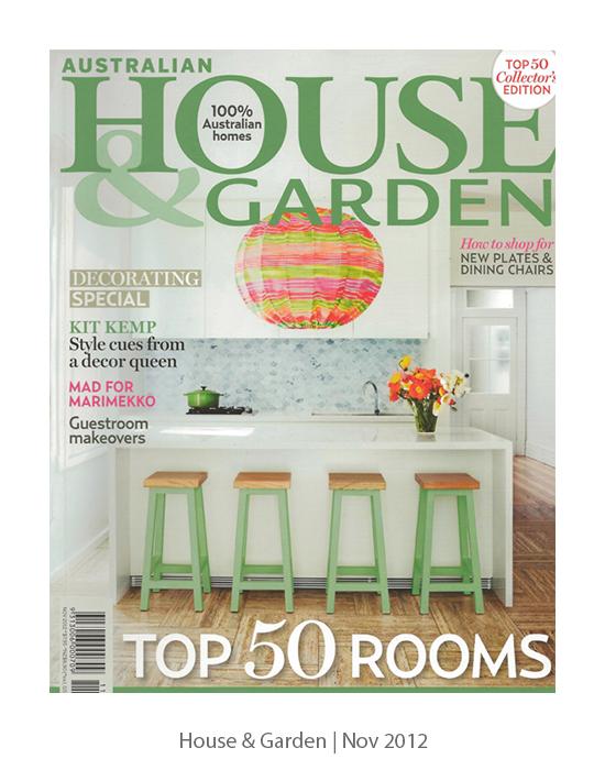 House & Garden Nov 2012