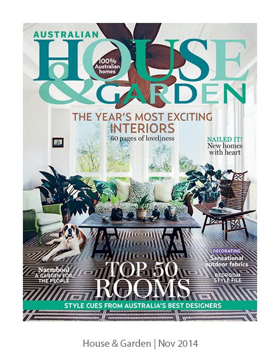 House & Garden   Nov 2014