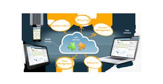 Custom built web application
