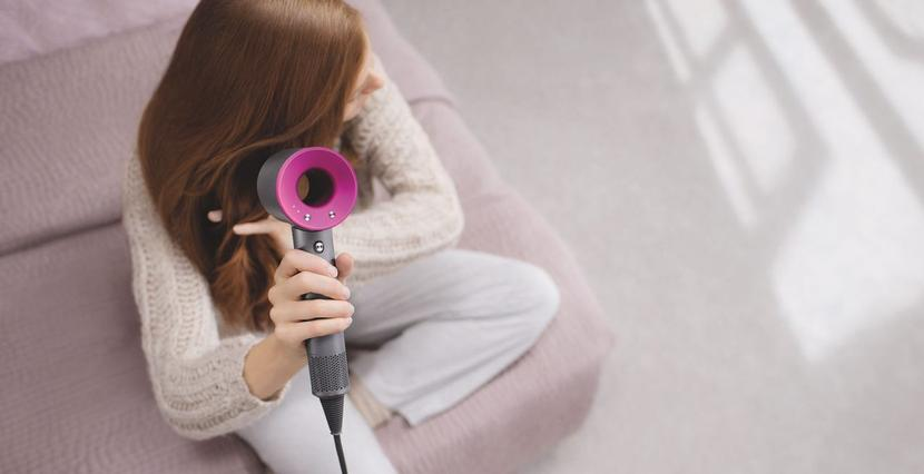 Dyson's and the chic Hairdryer