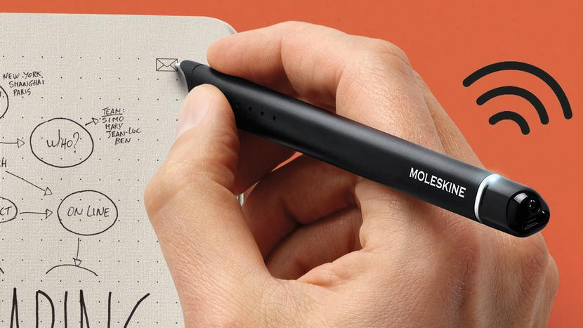 Moleskine's Smartpen Digitizes Your Notebooks as You're Writing In Them