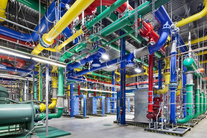 Take a 360-degree video tour of Google's Oregon data center