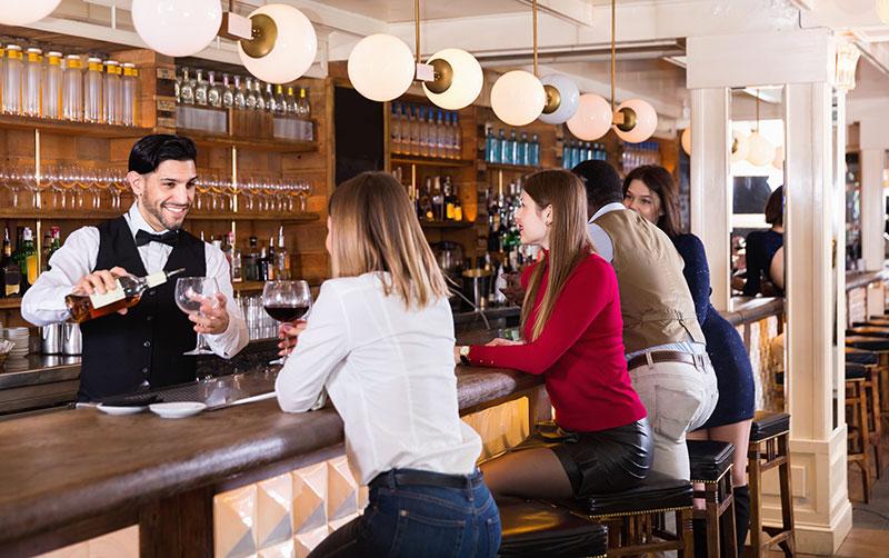 Restaurant Bar Attendee