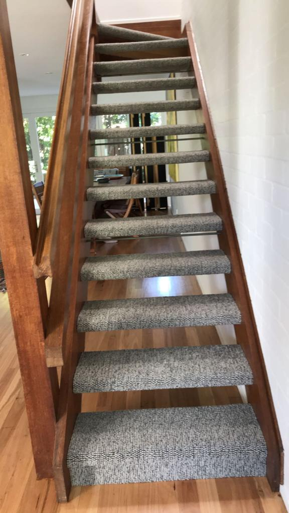 Domestic With A Wraparound Stairs