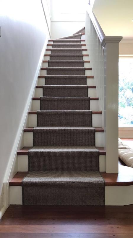 Carpet Staircase Runner - Residential Job