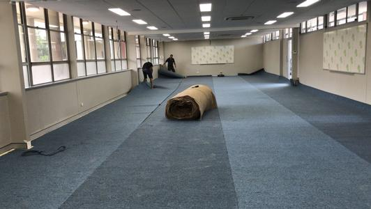Commercial Carpet For Sydney School