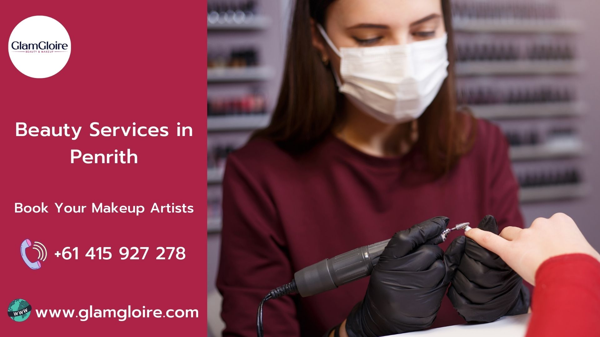 Best Beauty Services in Penrith | GlamGloire
