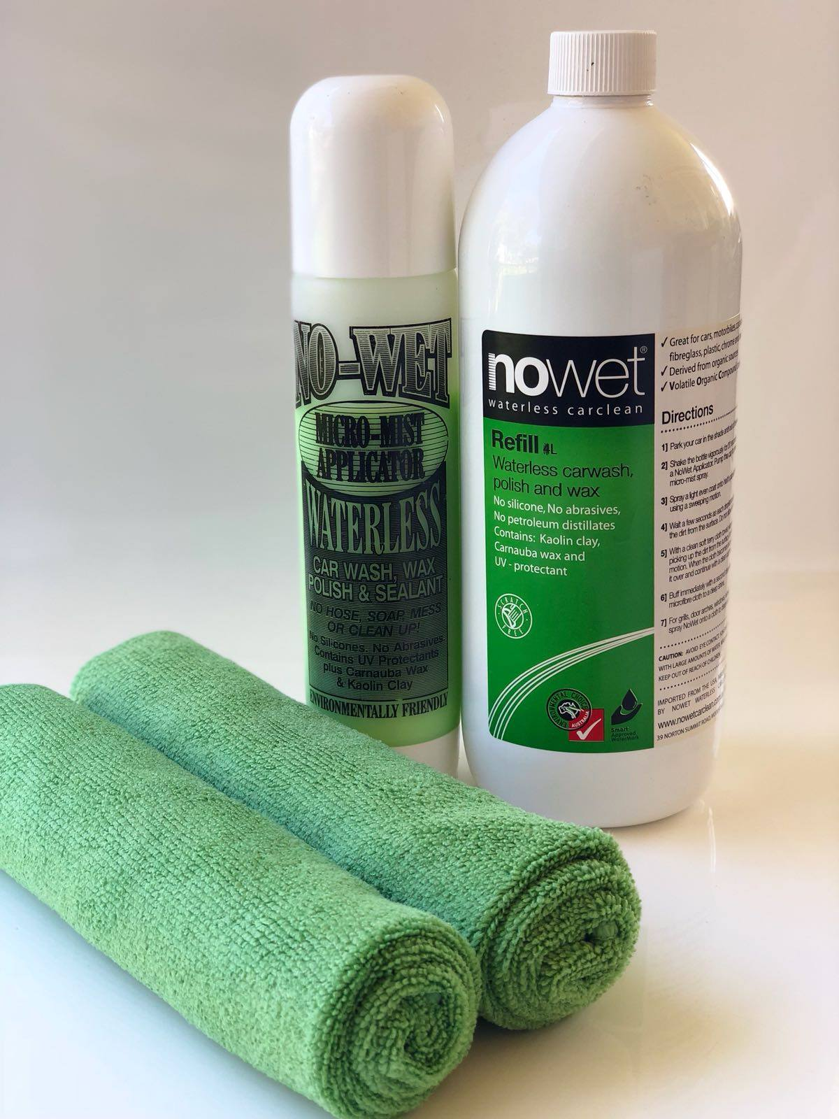 Affordable Eco-friendly Car Cleaning Products | NO-WET CarClean