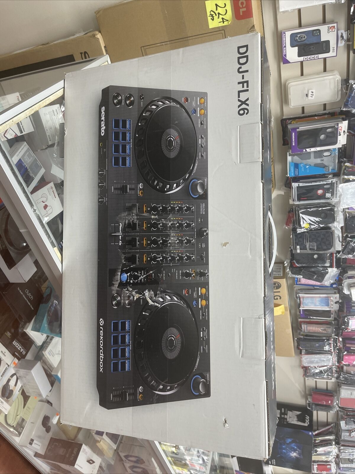 Brand new/Used Pioneer DDJ-FLX6 4-Channel DJ Controller for Rekordbox and Serato DJ Pro