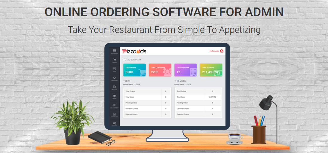Get your Free Pizza Business Online With our Pizzaods, to Ordering System and Delivery Software for the Restaurants, Startups, Franchises or Enterprises.