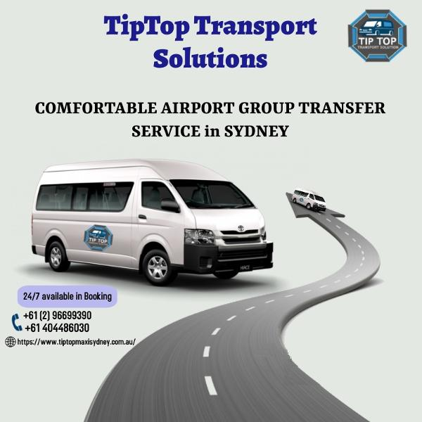 maxi cab booking   wheelchair taxi Sydney   baby seat taxi - TipTop Transport Solutions