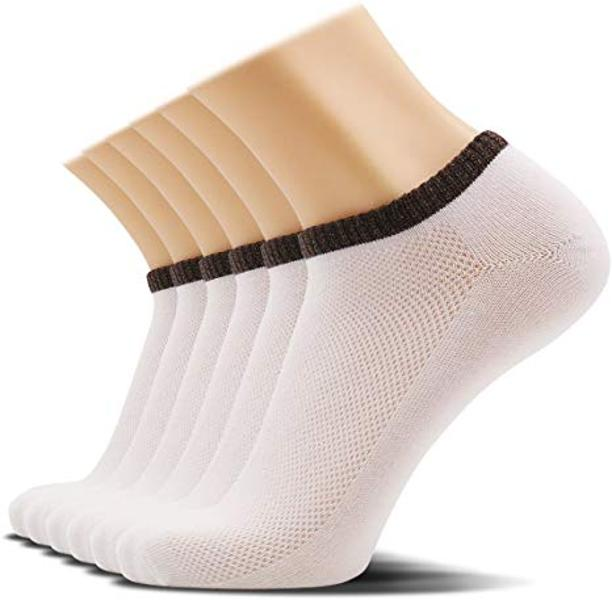 SOXTOWN Men's Low Cut Athletic Cotton Socks | 6 Pairs Super Soft Durable No Show Casual Socks