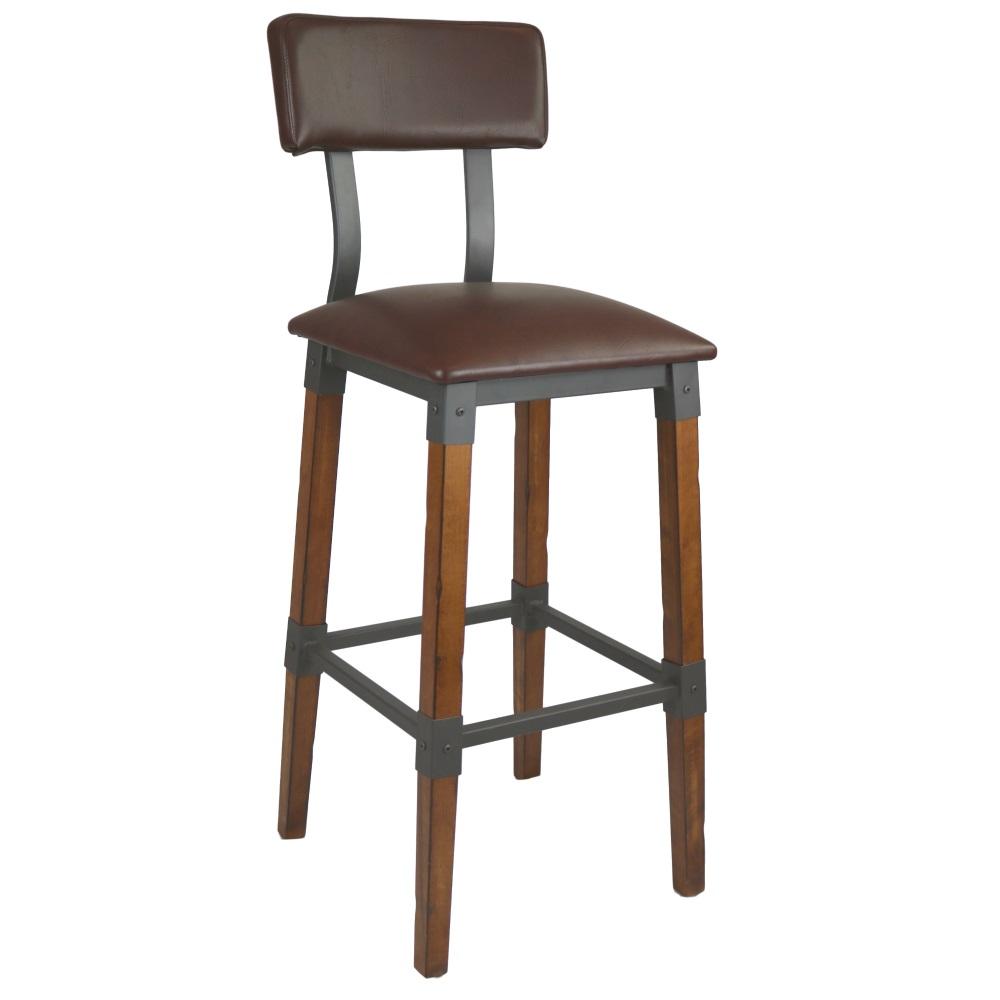 Genoa stool w/seat pad