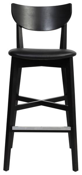 Rialto stool/vinyl seat