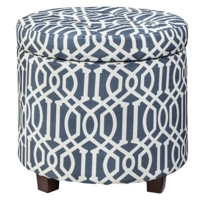 STORAGE OTTOMAN LOW