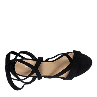 Audrina-Wildfire-Womens-block-high-heel-lace-up-Spendless