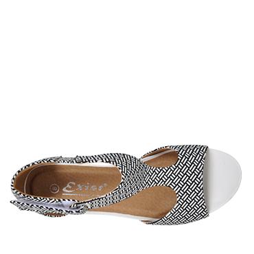 376e443cd4f Brook-Exist-Womens-low-wedge-sandal-metallic-peep-