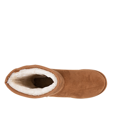 thumbnail 3 - NEW Spendless Mens Freeze Olympus Soft Slipper Comfort Pull On Fluffy Boots