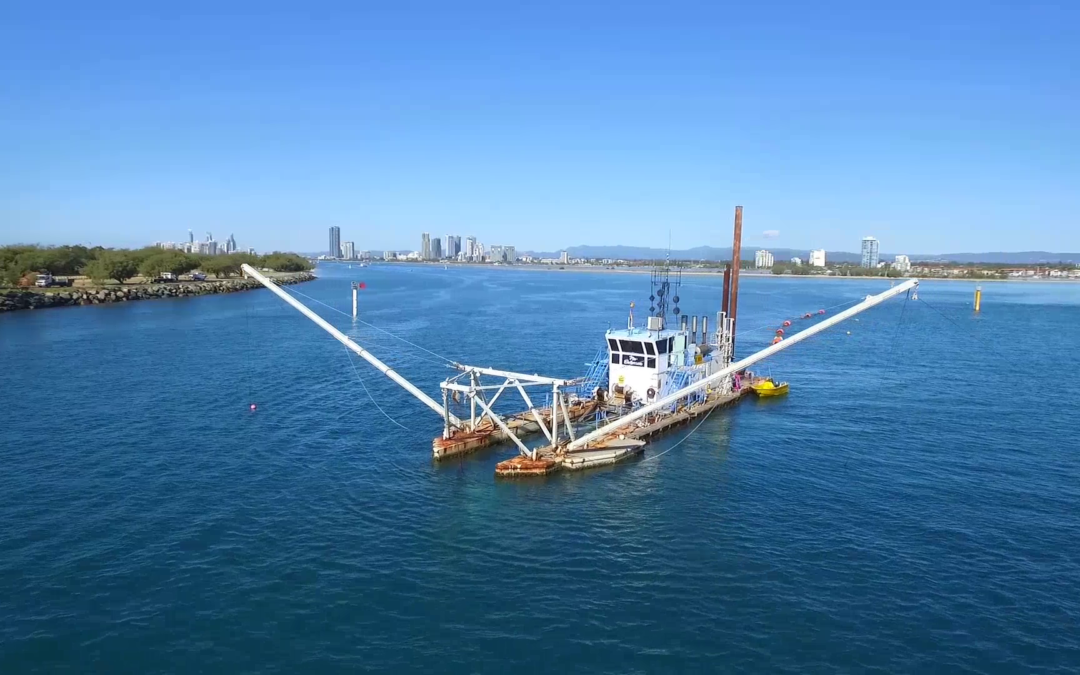 Dredging the Gold Coast waterways