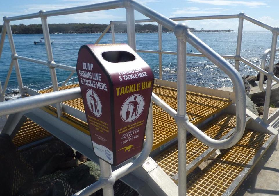 Queensland first Tackle Bin Project launches on the Gold Coast this week!