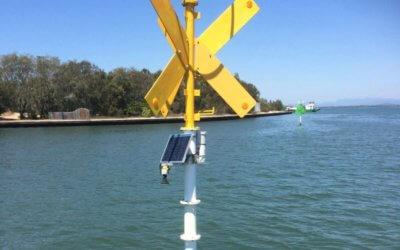 Installation of tide gauges