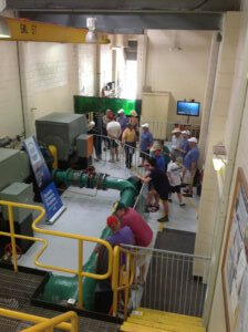 Sand Bypass System Pump Room