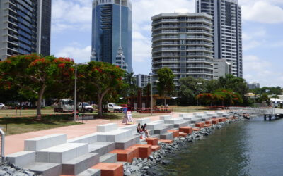 Surfers Riverside Edge Treatment gets special mention at Gold Coast Urban Design Awards
