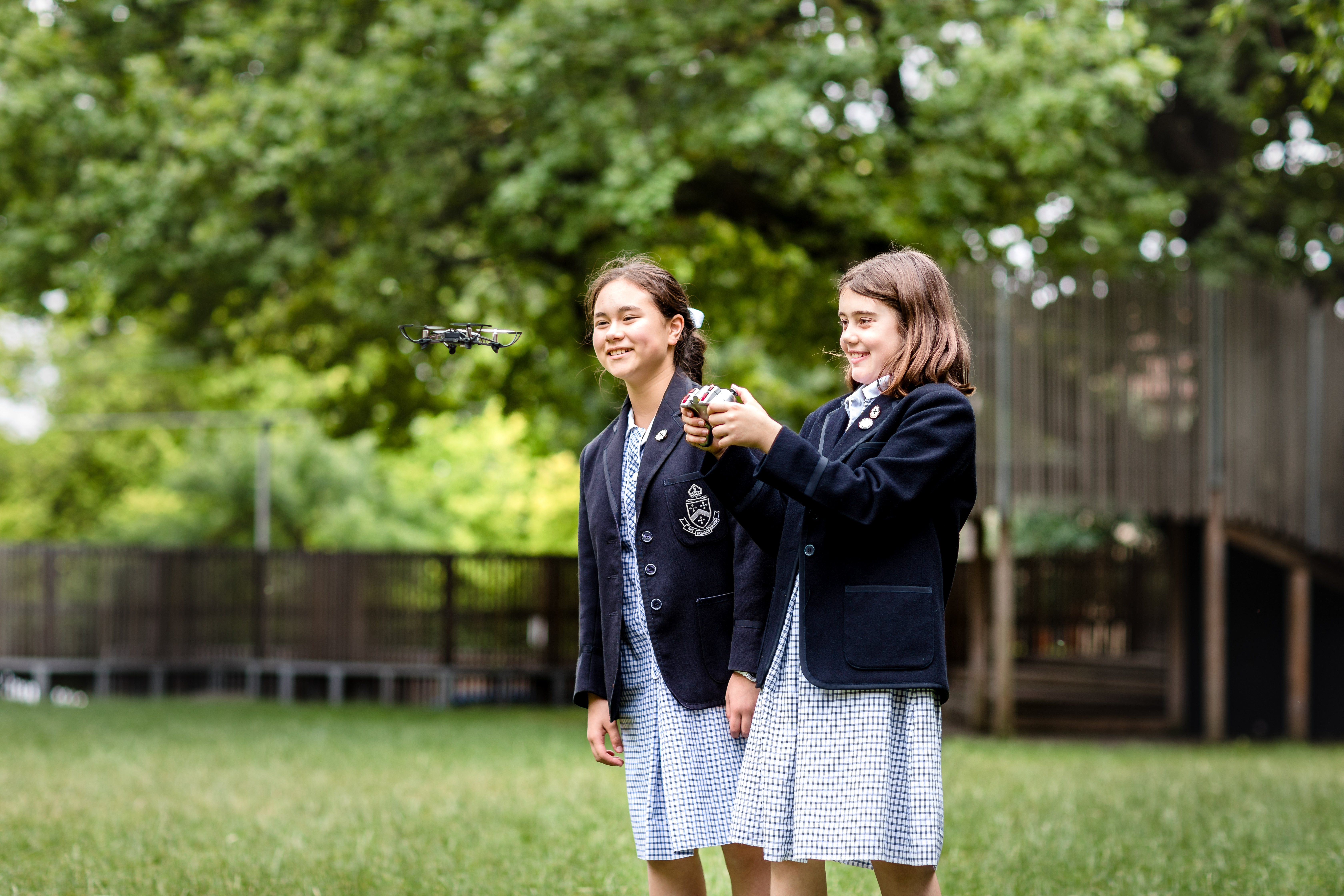 Drone initiative flying at Melbourne Girls' Grammar