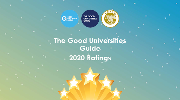 A breakdown of The Good Universities Guide 2020 ratings