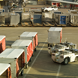 Airline Baggage and Freight Handler