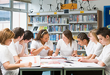 التعليم في المرحلة الثانوية