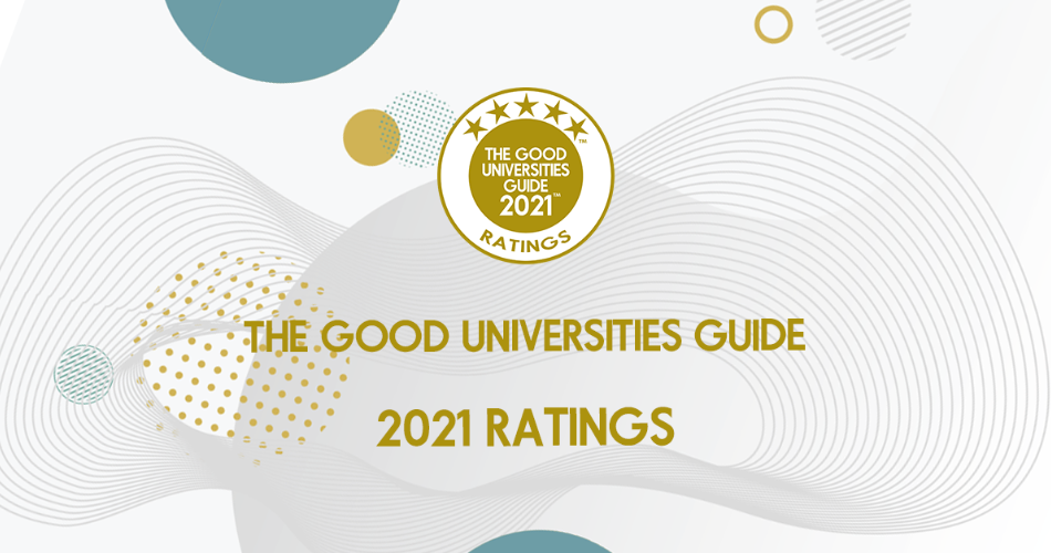 The top performers in The Good Universities Guide 2021 ratings