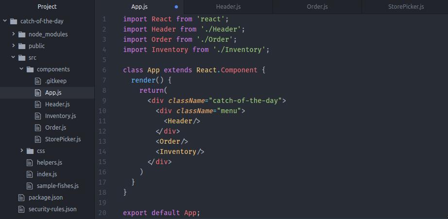 React for Beginners - Starter Files