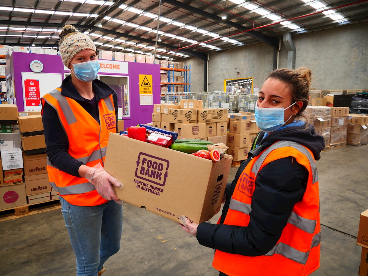 Secure Payment to Foodbank Victoria