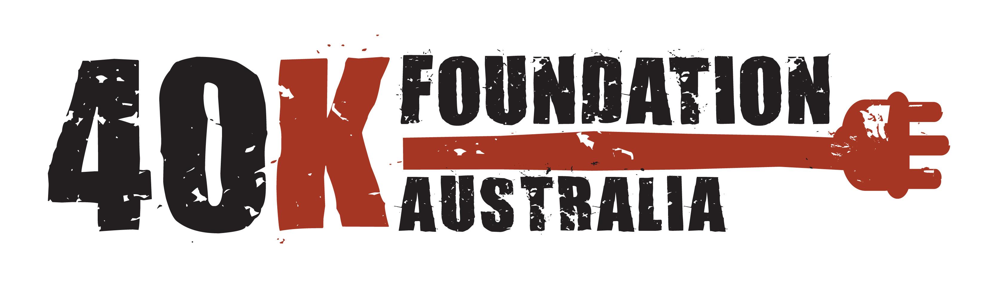 40K Foundation Australia logo