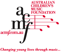 Australian Children's Music Foundation logo