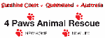 4 Paws Animal Rescue logo