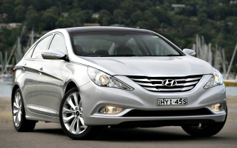 Hyundai i45 car prices Brisbane, Gold and Sunshine Coast